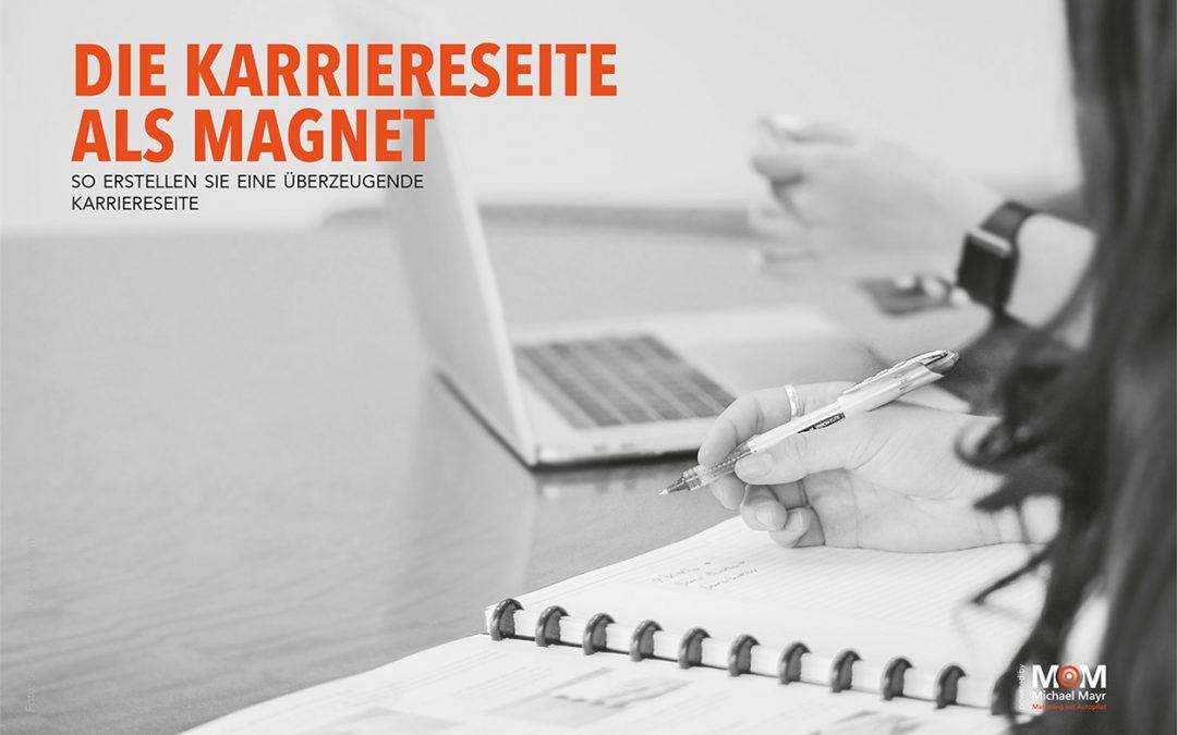 Die Karriereseite als Magnet: So erstellen Sie eine überzeugende Karriereseite