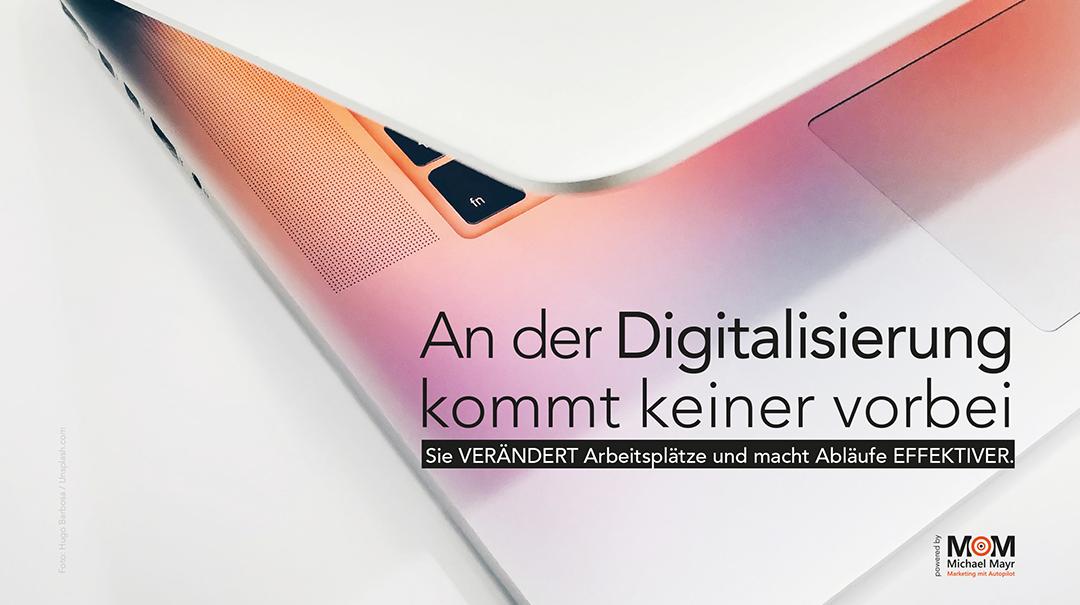 An der Digitalisierung kommt keiner vorbei
